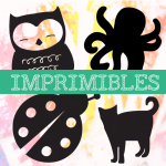 Imprimibles: Diseños estampación textil. Animales