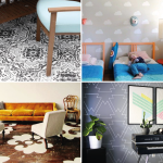 Estarcidos XXL – 5 Ideas para pintar paredes, suelos y techos