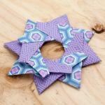 Tutorial: Estrella mandala de origami Robin Star