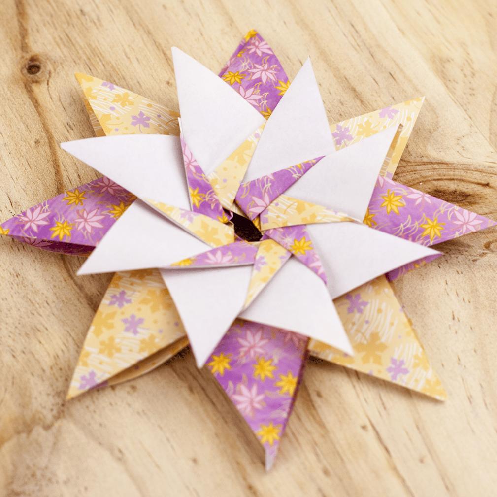 Estrella origami deneb portada - Origami de una estrella ...