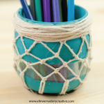 Tutorial: Tarro de cristal decorado con cuerda