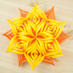 Tutorial: Estrella decorativa de papel
