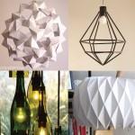 5 ideas para hacer lámparas DIY
