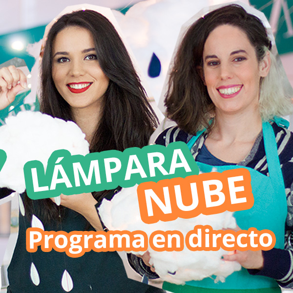 Lámpara-nube-decorativa-diy