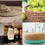 5 ideas para decorar con cuerda de sisal