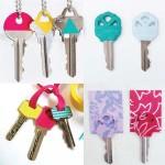 5 ideas para personalizar tus llaves