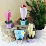 Tutorial: Cactus de papel de scrap