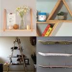5 ideas para crear estanterías DIY