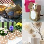 5 ideas para hacer con bolsas de papel kraft