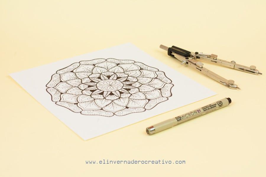 Curso De Mandalas Cómo Dibujar Un Mandala