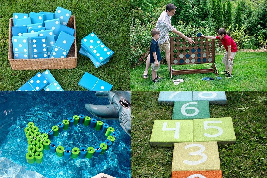 5 ideas de juegos DIY para divertirse al aire libre