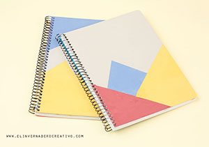 Colorblock-notebook