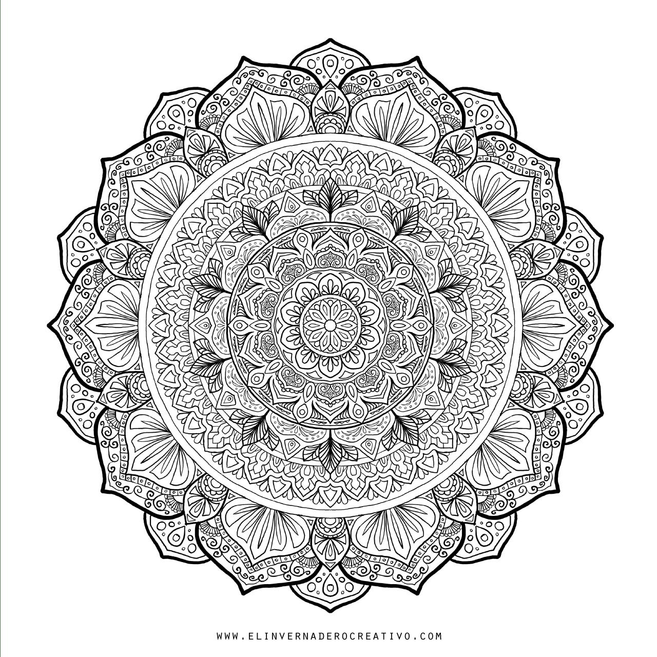 Mandala-para-colorear-el-invernadero-creativo