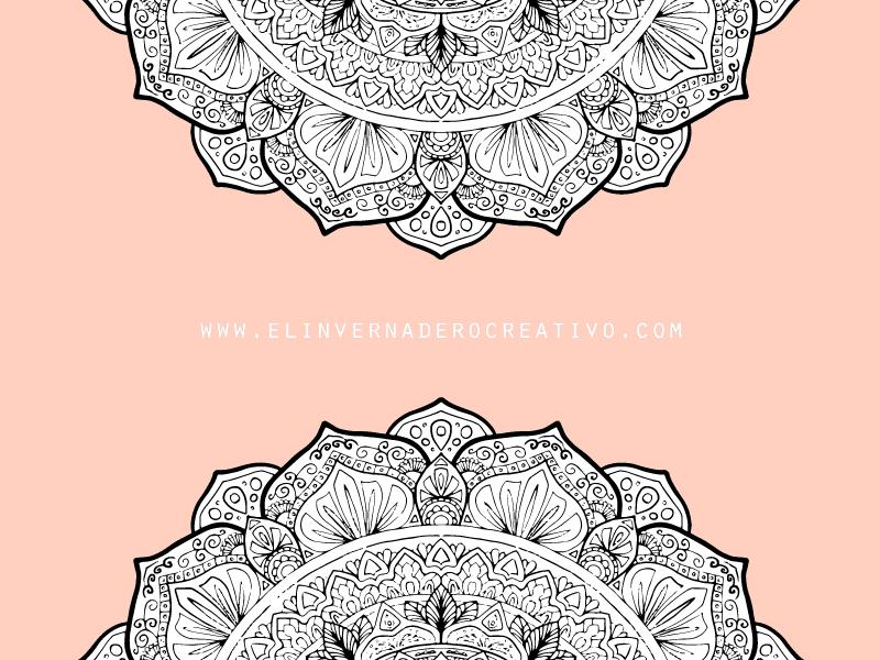 Mandala Para Colorear Aludra