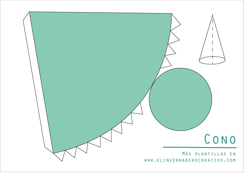 Plantilla-cono-figuras-geométricas-3