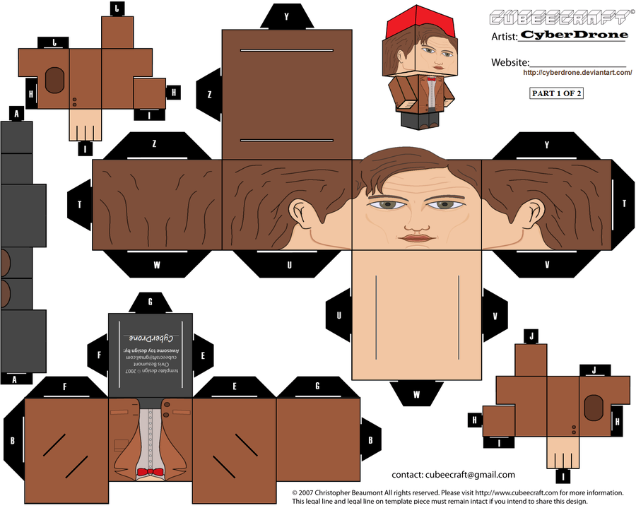 cubee___11th_doctor___ver3a___by_cyberdrone-d3cxzja