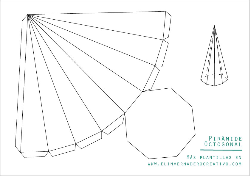 plantilla-pirámide-octogonal