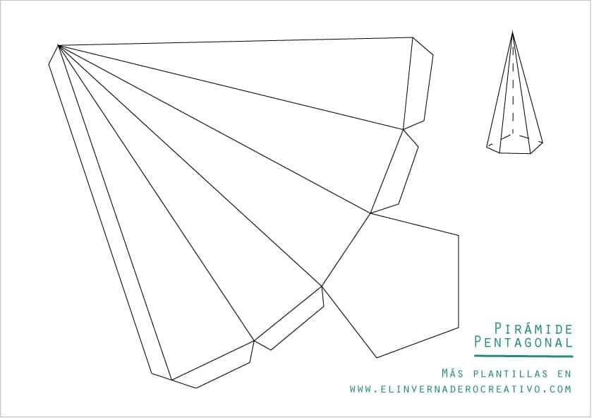 plantilla-pirámide-pentagonal