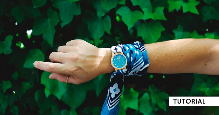 tutorial-como-hacer-una-correa-de-reloj-con-un-foulard-o-bandana-diy