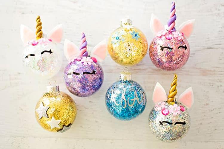Bolas-de-navidad-unicornio