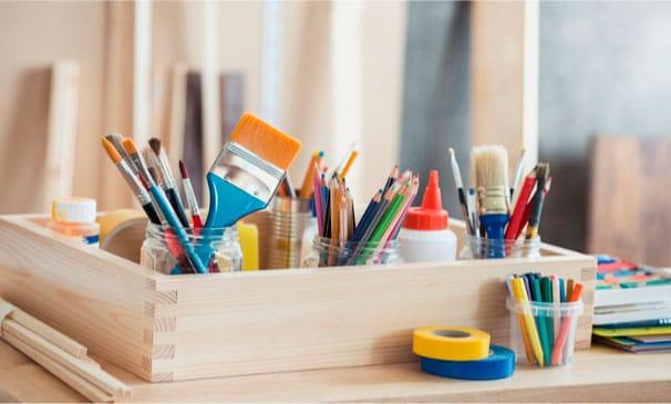 organizar-material-de-manualidades
