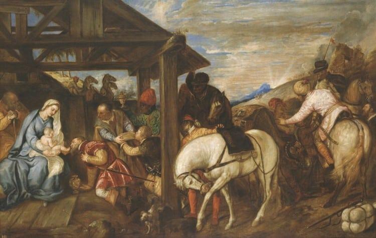 Adoración de los Reyes Magos (1)