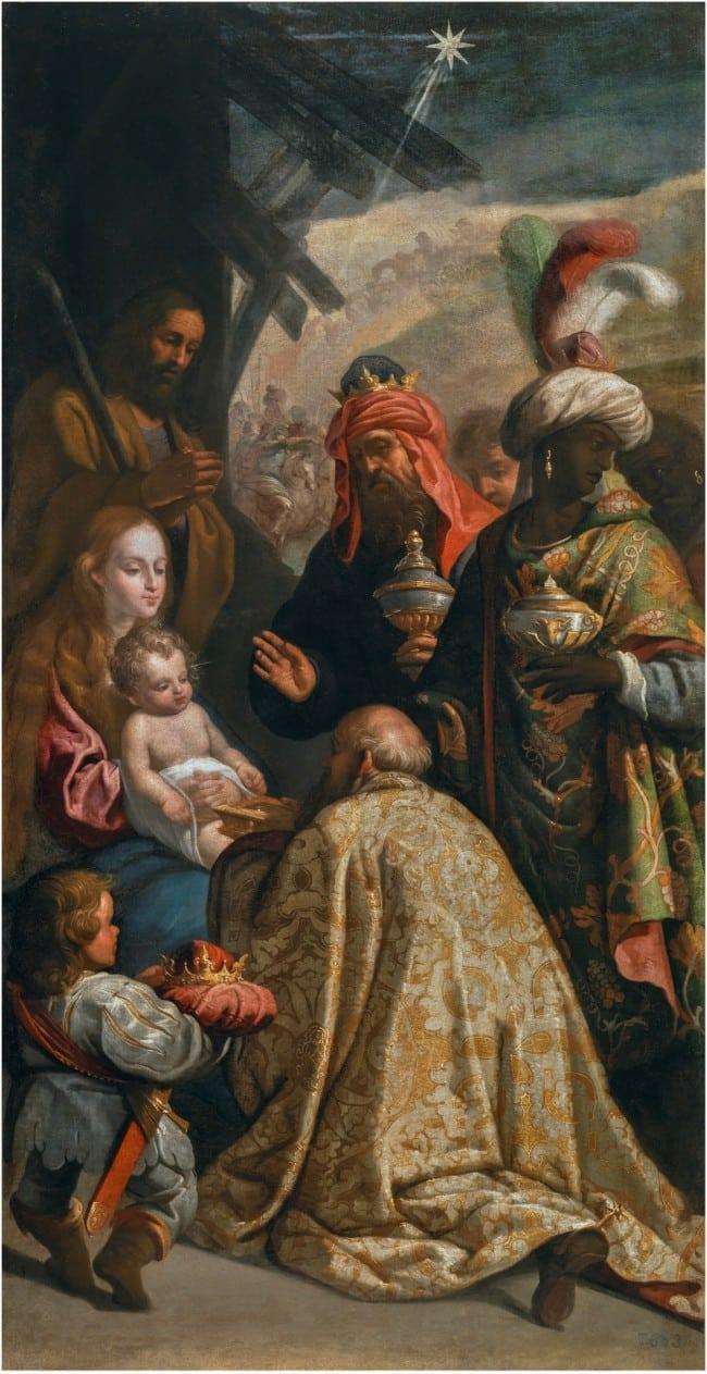 Adoración de los Reyes Magos (2)