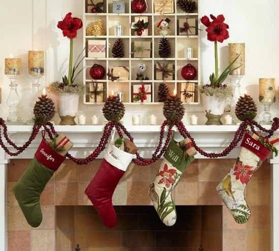Decoración-chimenea-Navidad-1
