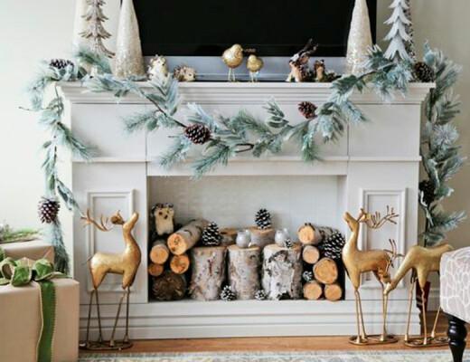 chimenea-navideña
