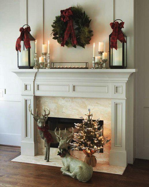decoraciones-de-chimeneas-navideñas-3