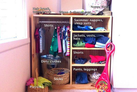 armario montessori