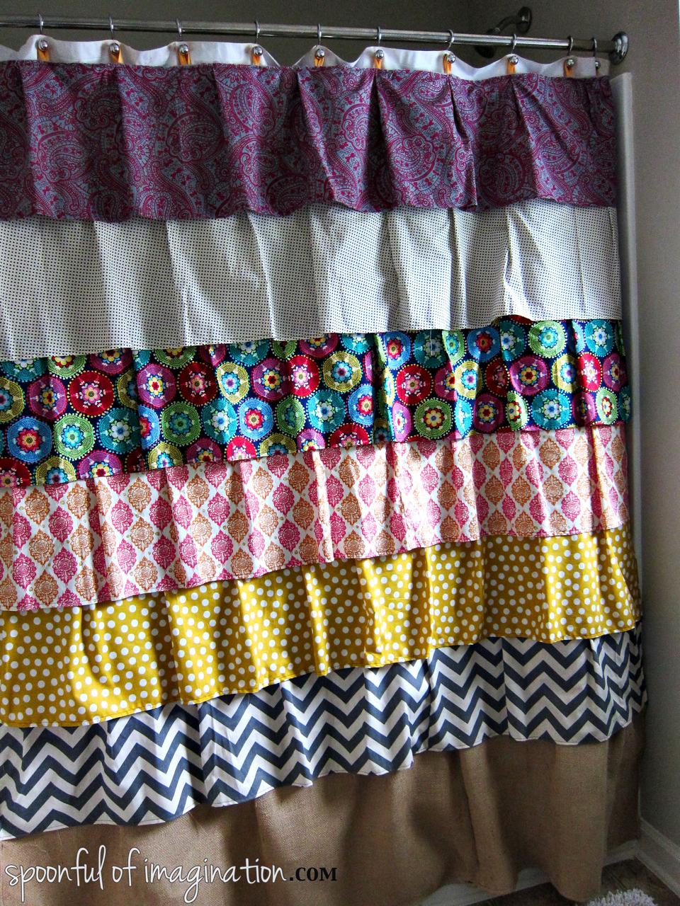 homemade-shower-curtain